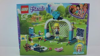 41330 LEGO® Friends Set Stephanie´s Soccer Practice Unboxing 4K by Brickmanuals