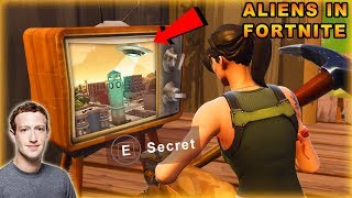 TILTED TOWERS **ALIEN INVASION** ( NEW SECRET in Fortnite )