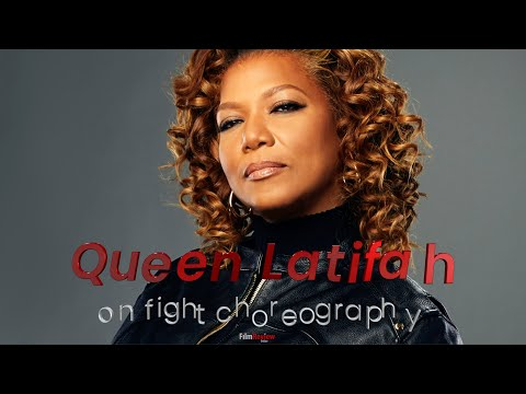 The Equalizer 2021 tv show star Queen Latifah on the fights - Soundbyte (4K)