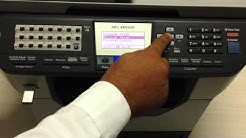 Digitalização para pendrive - brother MFC-8890DW