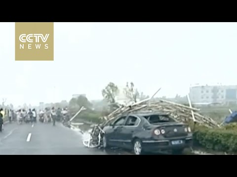 51 dead, dozens injured after cyclone strikes east China