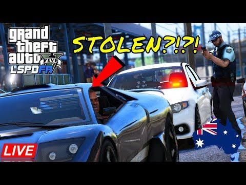 That's Not Your Car! - GTA 5 Police Roleplay - LSPDFR Australia NSW Unmarked Ford XR6 Patrol