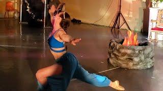 2nd Angle-Nikiya's Fire Dance From La Bayadere