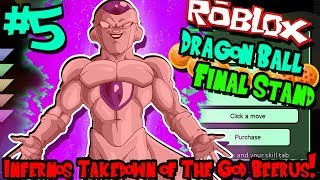 INFERNO'S TAKEDOWN OF BEERUS! | Roblox: Dragon Ball Final Stand (Arcosian/Frieza) - Episode 5