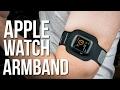 Twelve South ActionSleeve Armband for Apple Watch - Review - Wear your Apple Watch on your leg!