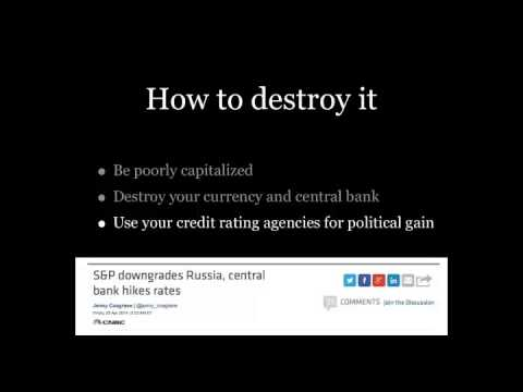007: How to destroy your financial system