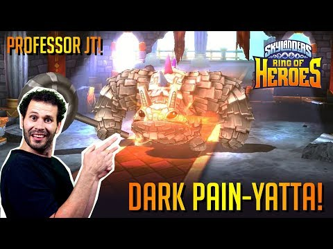 Dark Pain Yatta Guild Boss Fight Explaining Set Up Skylanders