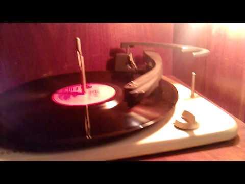 Oude radio en platenspeler