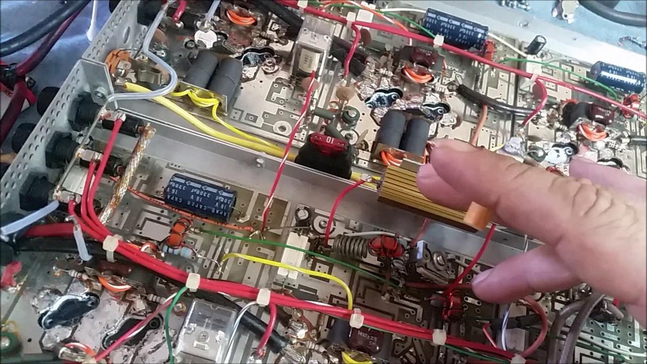 Texas Star DX3200 Viking 16x2879 Linear Amplifier Repair