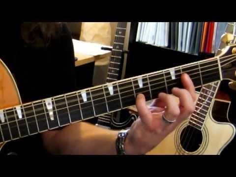 Melodiepicking mit Tabs, auch für Anfänger, Gitarre Tutorial