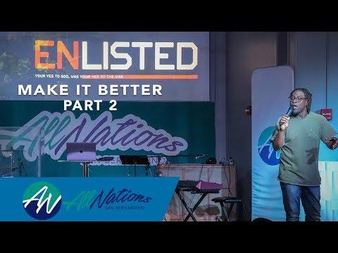 Enlisted | Make It Better Part 2 | Sherman Dumas