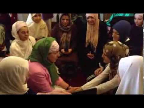 Spanish woman converts to Islam - October 2013