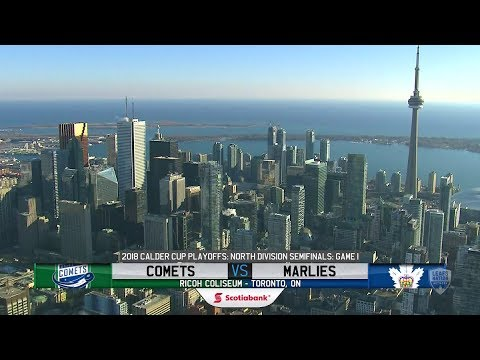 Scotiabank Game Highlights: Comets at Marlies (Game 1) - April 21, 2018