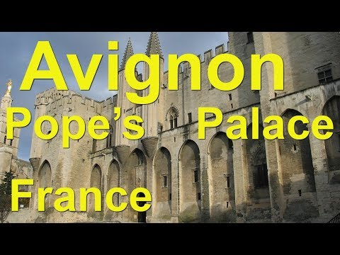 Avignon, France -  Palace of the Popes and other museums