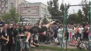 Вторые ежегодные соревнования по Street Workout г.Бийск  (2012)