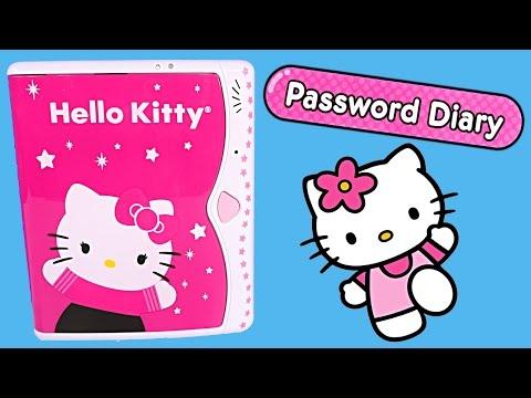 Hello Kitty Password Diary Electronic Childrens Journal HelloKitty Contraseña Diario Toy Review DCTC