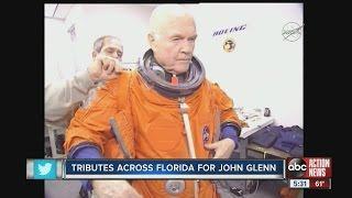 Tribute across Florida for John Glenn