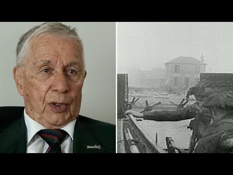 Canadian Veteran Recalls The D-Day Landings In Normandy