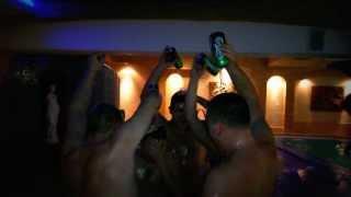 видео Новогодний корпоратив в бане