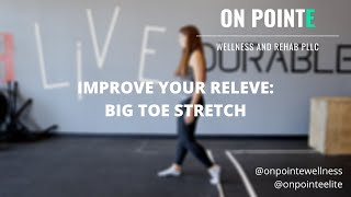 Improve Your Releve with with these Foot Stretches