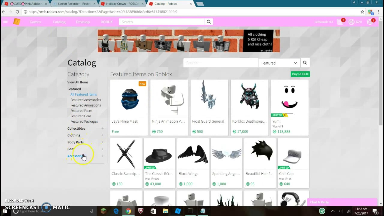 Getting Robux For First Time Getting Robux For The First Time Not Bragging Youtube