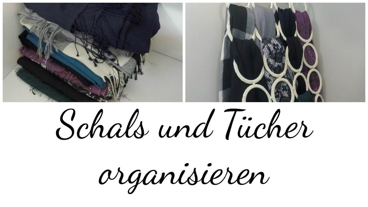 kleiderschrank organisieren schal und t cher organizer. Black Bedroom Furniture Sets. Home Design Ideas