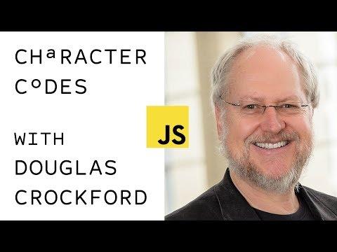 Douglas Crockford Explains Character Sets Aug 2017 | JavaScriptLA LiveStream