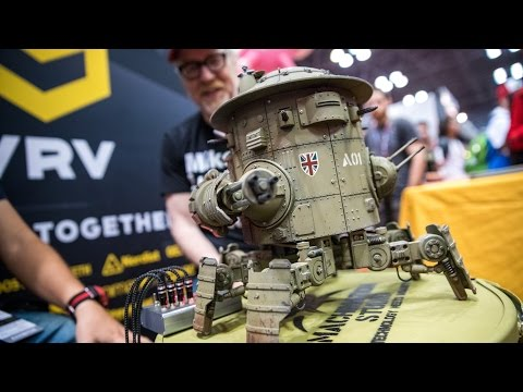 Adam Savage Meets Machination Studios Codename Colossus
