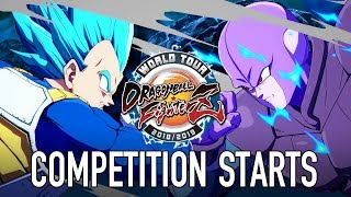 Dragon Ball FighterZ - PS4/XB1/PC - Competition Starts (World Tour Launch Trailer English)