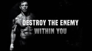 Destroy The Enemy Within You Motivational Video 2017- Motivational Speaker Derek Clark
