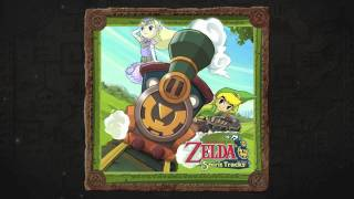 The Legend of Zelda: Spirit Tracks Soundtrack - 41. Got the Spirit Train!