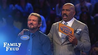 Can Happy make it $20,000? | Family Feud