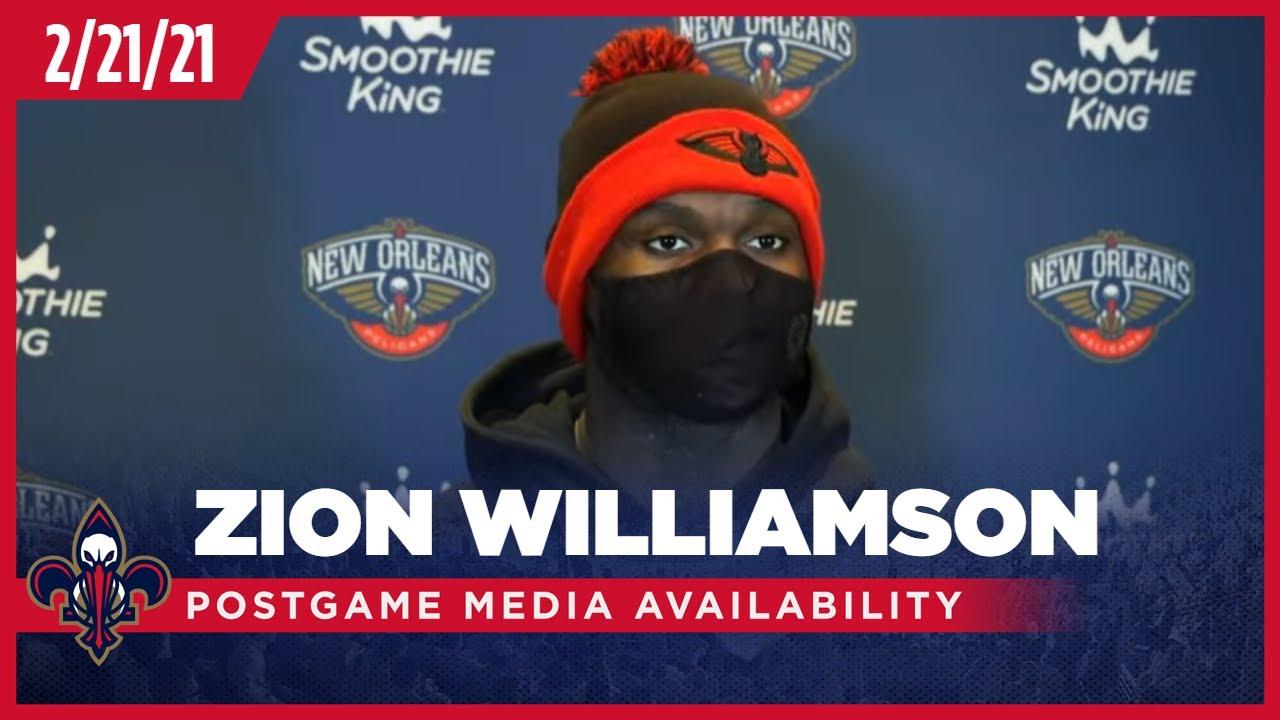 Pelicans-Celtics Postgame: Zion Williamson 2-21-2021