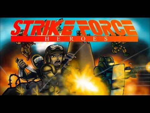 Мультик ИГРА Герои Ударного Отряда - STRIKE FORCE HEROES про ударный отряд против террористов (ч.1)