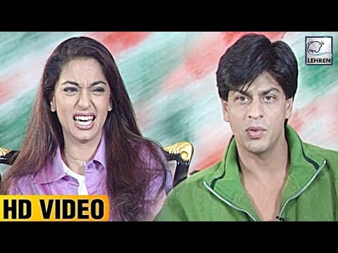 Juhi Chawla's FIRST Reaction To Seeing Shah Rukh Khan | Lehren Diaries