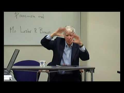 Lester R. Brown Stockholm part 8/12
