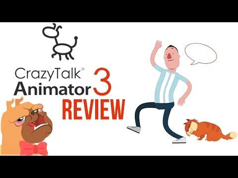 CrazyTalk Animator 3 - MÄCHTIGE Software für 2D Animationen - Review