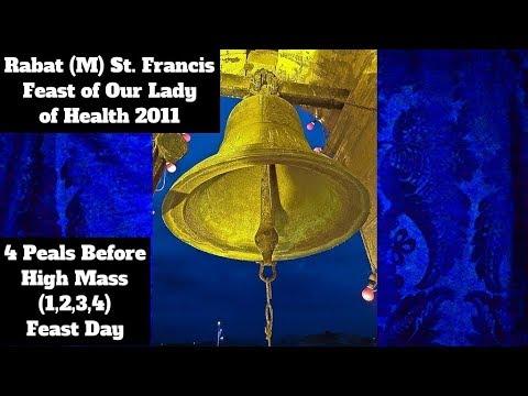 Rabat M St. Frances - Our Lady of Health 2011 - 4 Peals (1,2,3,4) - 3/4 Bells / 10