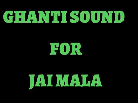 Ghanti sound for #jaimala