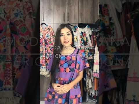 820acc08d4 Moda a la Mexicana - Ericka Carmona y Fernanda - YouTube