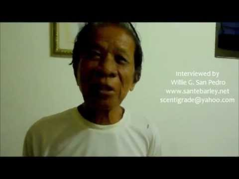 Sante Pure Barley Grass Testimonial - Cyst- Mr. Paquito Roldan