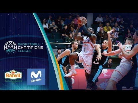 Banvit v Movistar Estudiantes - Full Game - Basketball Champions League