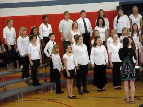 Laconia Middle School 6 Chorus - Spring 2014