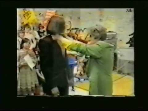 The Human League (Philip) - Indian Shirt Trick (1st Bit From Tiswas Oct 1981)