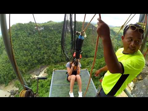 Deadliest Drop! (The PLunge) - Danao Adventure Park