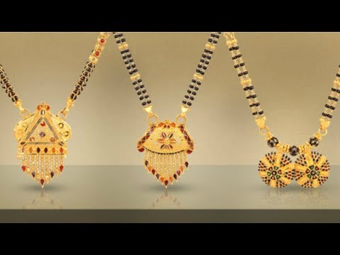 8ba6bd6c57d85 Malabar Gold Mangalsutra Designs With Price - YouTube