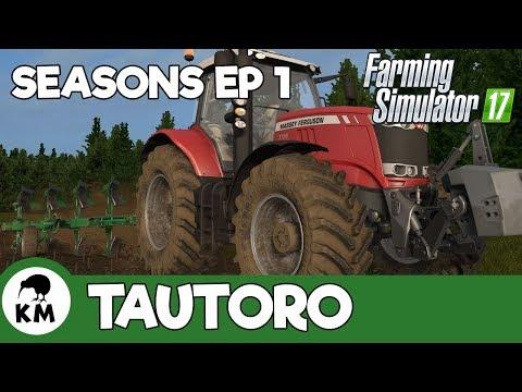 Seasons Ep1 - It's Spring! | Tautoro District  - New Zealand | Farming Simulator 17