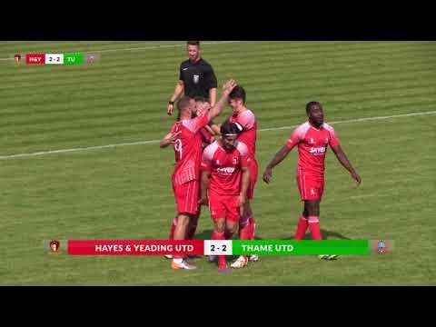 2017 08 26 Hayes & Yeadig Utd v Thame Utd   highlights