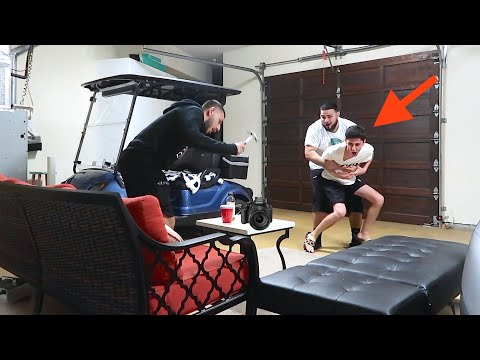 I DESTROYED ALL OF FAZE RUG'S FOOTAGE! *HE FREAKED OUT*
