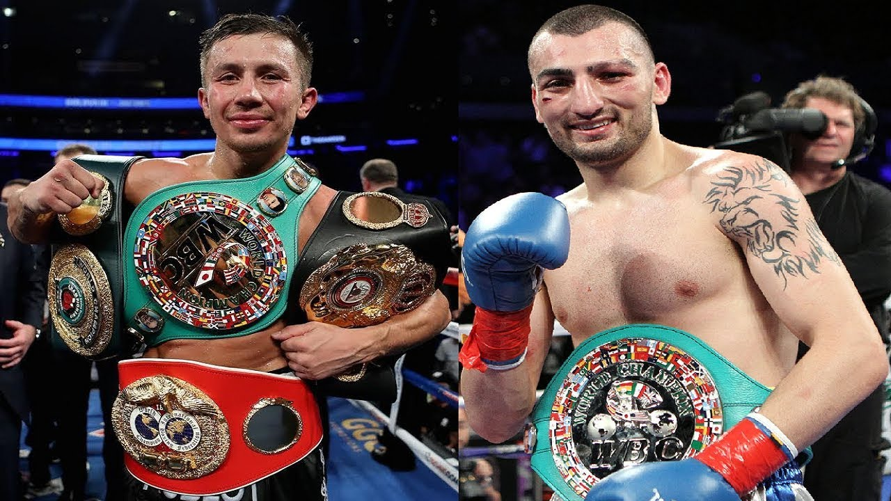 Image result for Golovkin vs Martirosyan Fight Live